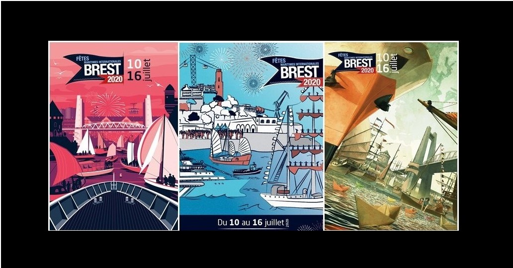 Les 3 affiches finalistes
